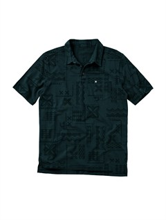 BLKMen s Aganoa Bay Short Sleeve Shirt by Quiksilver - FRT1