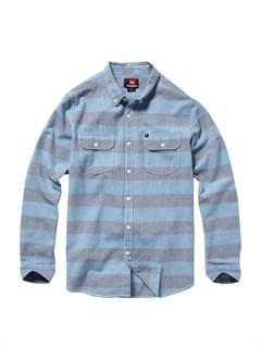 BTK3Boys 8- 6 Box Plaid Long Sleeve Shirt by Quiksilver - FRT1