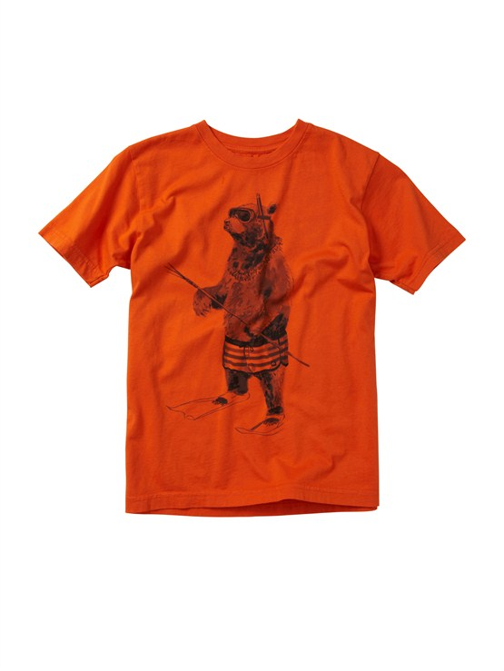 NNK0Boys 2-7 Crash Course T-Shirt by Quiksilver - FRT1