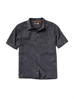 KVJ0Men s Baracoa Coast Short Sleeve Shirt by Quiksilver - FRT1