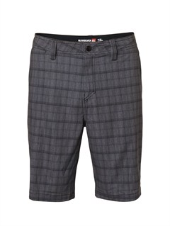"KVJ1Yoke Checker  8"" Boardshorts by Quiksilver - FRT1"