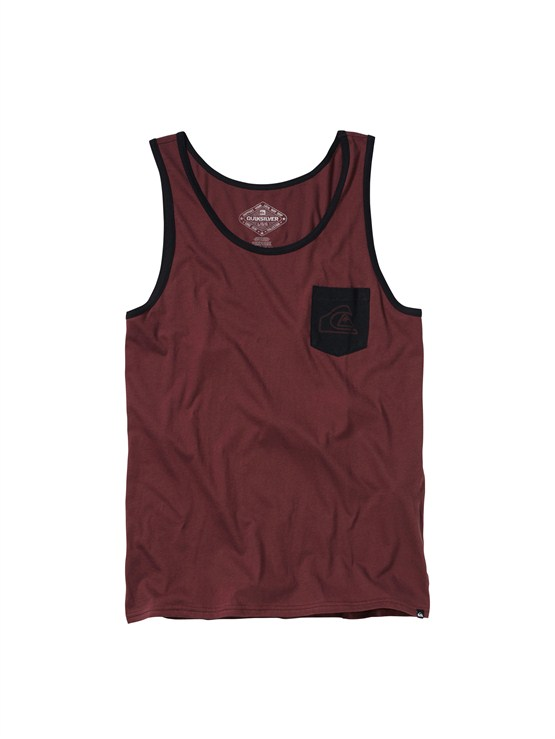 RSS0Mountain Wave Slim Fit Tank by Quiksilver - FRT1