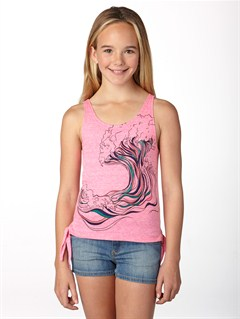 MLW0Girls 7- 4 Coast Lines BL Long Sleeve Top by Roxy - FRT1