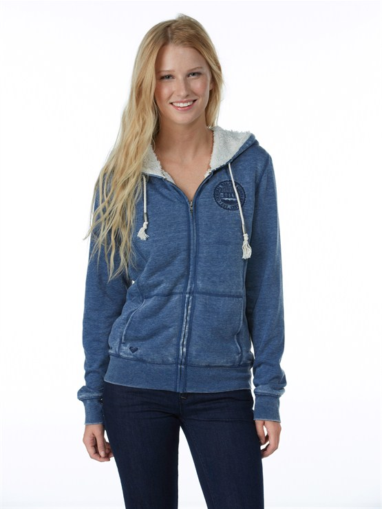 BSW0Glacial 2 Zip Up Hooded Fleece by Roxy - FRT1