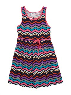 BSW6Girls 2-6 Night Song Dress by Roxy - FRT1