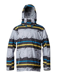 YKN2Travis Rice Polar Pillow  5K Jacket by Quiksilver - FRT1
