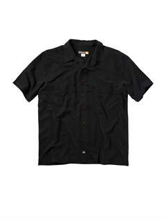 BLKMen s Deep Water Bay Short Sleeve Shirt by Quiksilver - FRT1