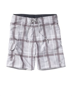 "SGR0Butt Logo  7"" Volley Boardshorts by Quiksilver - FRT1"