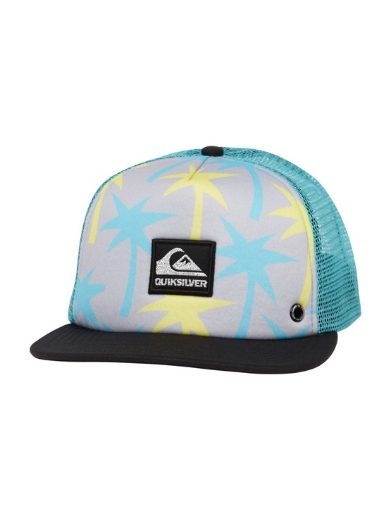 GGP0Please Hold Trucker Hat by Quiksilver - FRT1
