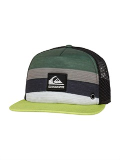 GPB0Please Hold Trucker Hat by Quiksilver - FRT1