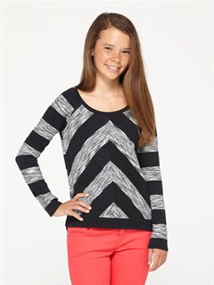 KVJ3Girls 7- 4 Roxy Border Rashguard by Roxy - FRT1