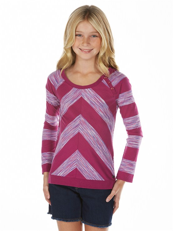 MPF3Girls 7- 4 Roxy Border Rashguard by Roxy - FRT1