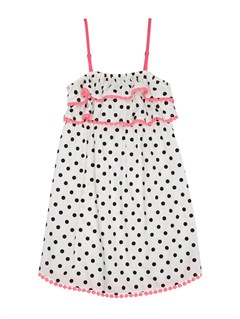 WBS6Girls 2-6 Block Party Dress by Roxy - FRT1