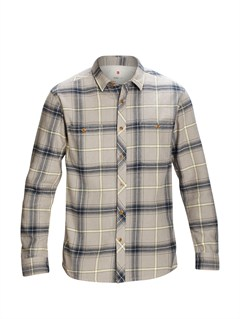 SJJ0Big Bury Long Sleeve Shirt by Quiksilver - FRT1