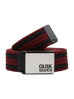 RSS0Sector Leather Belt by Quiksilver - FRT1