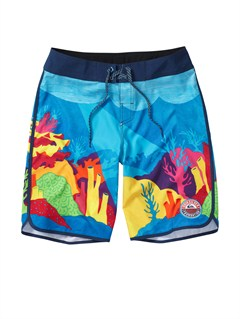 BMJ6Cypher Brigg Scallop 20  Boardshorts by Quiksilver - FRT1