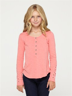 MJJ0Girls 7- 4 Calla Lily Top by Roxy - FRT1