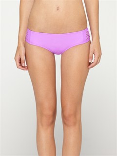 PKY0Against the Tide Surfer Side Tie Bikini Bottoms by Roxy - FRT1