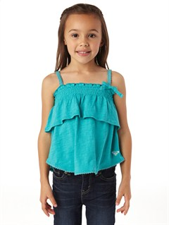 BLK0Girls 2-6 Sea Fever Long Sleeve Top by Roxy - FRT1
