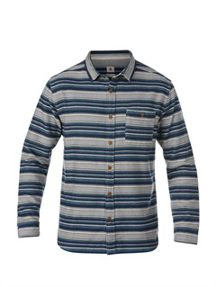 BQK0Big Bury Long Sleeve Shirt by Quiksilver - FRT1