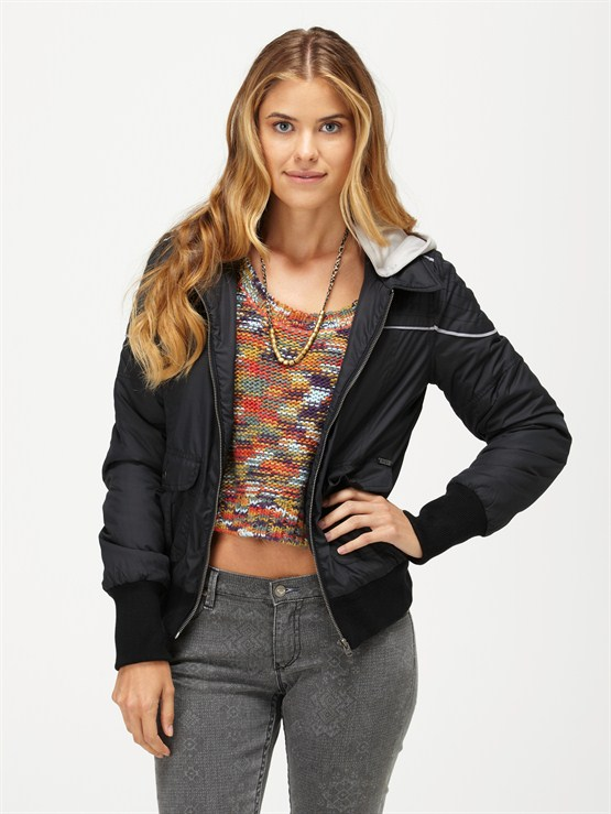 BLKDancing Shores Jean Jacket by Roxy - FRT1