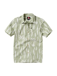 LGNBoys 8- 6 Engineer Pat Short Sleeve Shirt by Quiksilver - FRT1