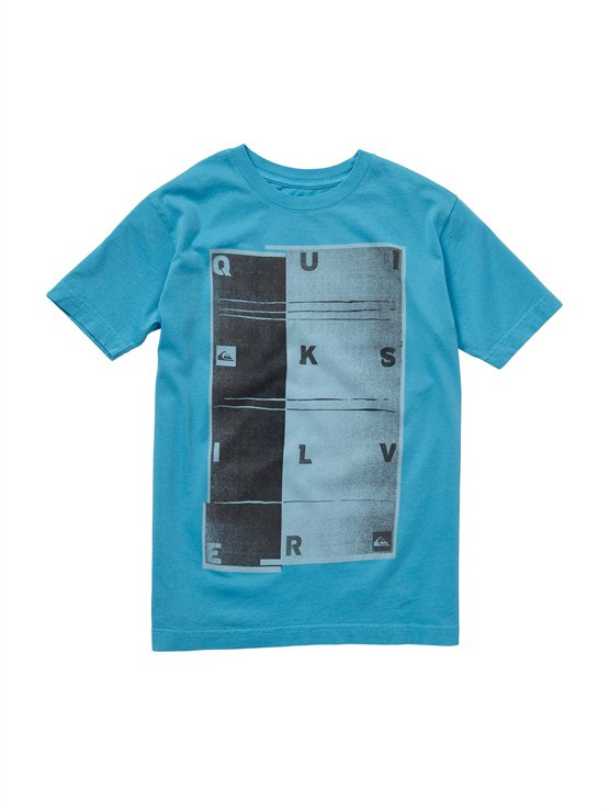 BLP0Boys 2-7 Gravy All Over T-Shirt by Quiksilver - FRT1