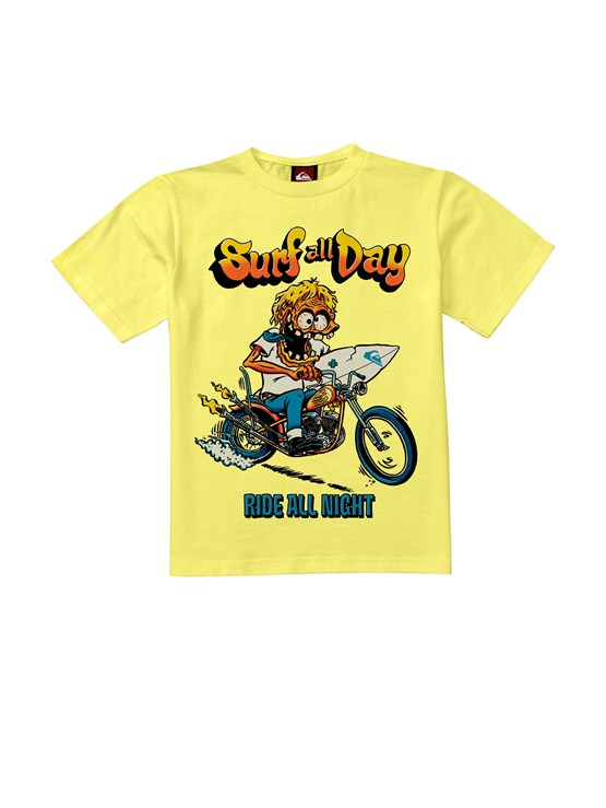 YELBoys 2-7 Sprocket T-Shirt by Quiksilver - FRT1