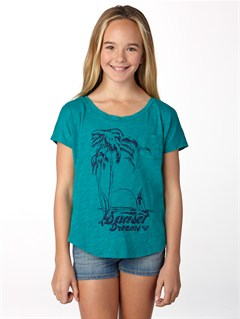 GRL0Girls 7- 4 Anchored Baseball Tee by Roxy - FRT1
