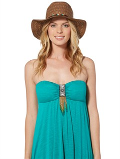 RSQ0Breezy Straw Hat by Roxy - FRT1