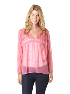MHT6Western Rose Top by Roxy - FRT1