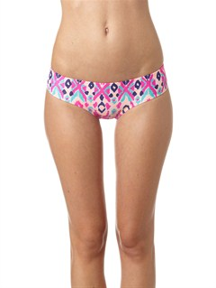MLW6Bali Tide Rev 70s Lowrider Bikini Bottom by Roxy - FRT1