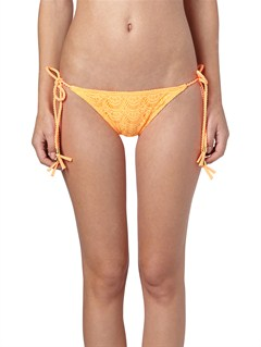NHP0Essentials 70 s Lowrider Tie Side Bottoms by Roxy - FRT1
