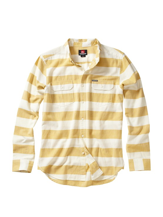 CURTube Release Long Sleeve Oxford Shirt by Quiksilver - FRT1