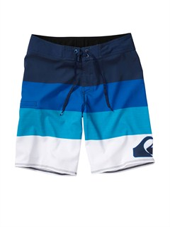 BQR3Boys 8- 6 Kelly Boardshorts by Quiksilver - FRT1