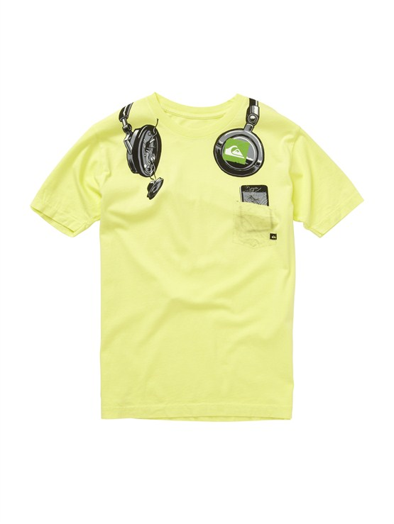 GCK0Boys 2-7 Gravy All Over T-Shirt by Quiksilver - FRT1