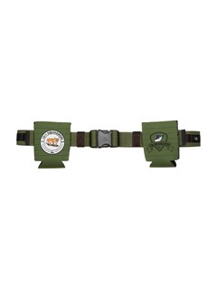 GNG0Sector Leather Belt by Quiksilver - FRT1