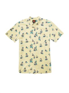 YDB6Pirate Island Short Sleeve Shirt by Quiksilver - FRT1