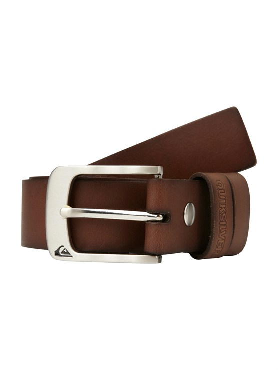 CZB0Sector Leather Belt by Quiksilver - FRT1