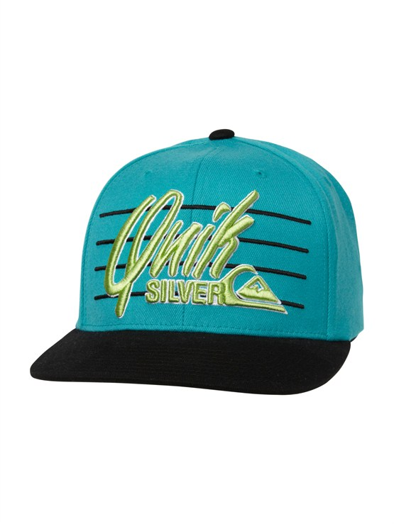 BLK0State of Aloha Hat by Quiksilver - FRT1