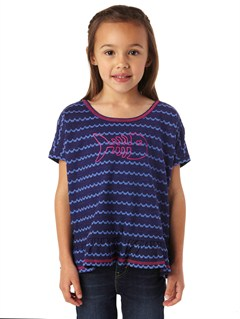 PSS3Girls 2-6 Sea Fever Long Sleeve Top by Roxy - FRT1