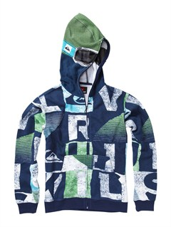 BTK6Boys 8- 6 Checker Hoody by Quiksilver - FRT1