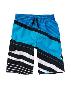 KVJ6Boys 2-7 Batter Volley Boardshorts by Quiksilver - FRT1