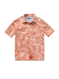 NNV0Men s Deep Water Bay Short Sleeve Shirt by Quiksilver - FRT1