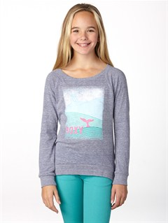 PSS0Girls 7- 4 A Chance Storm Sweater by Roxy - FRT1