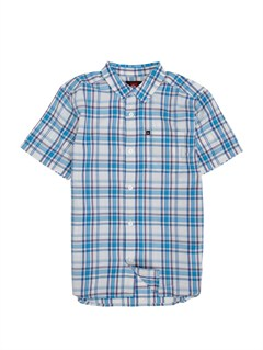 BMM0Boys 8- 6 Box Plaid Long Sleeve Shirt by Quiksilver - FRT1