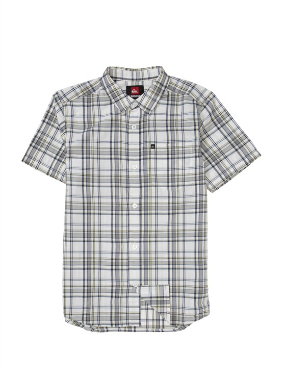SKT0Boys 8- 6 Mountain And Wave Shirt by Quiksilver - FRT1