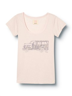 PNPBlue Skies Road Trip Tee by Quiksilver - FRT1