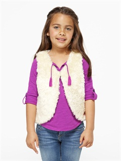 PRLGirls 2-6 Quiet Whiper Cardigan by Roxy - FRT1