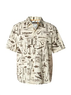 KSL0Men s Aganoa Bay Short Sleeve Shirt by Quiksilver - FRT1